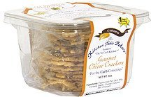 gourmet cheese crackers caraway The Kitchen Table Bakers Nutrition info