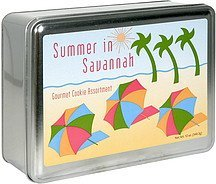 gourmet cookie assortment summer in savannah Byrd Cookie Company Nutrition info