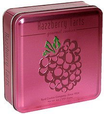 gourmet cookies razzberry tarts Byrd Cookie Company Nutrition info