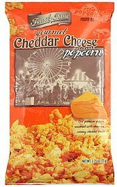 gourmet popcorn cheddar cheese Family Time Nutrition info