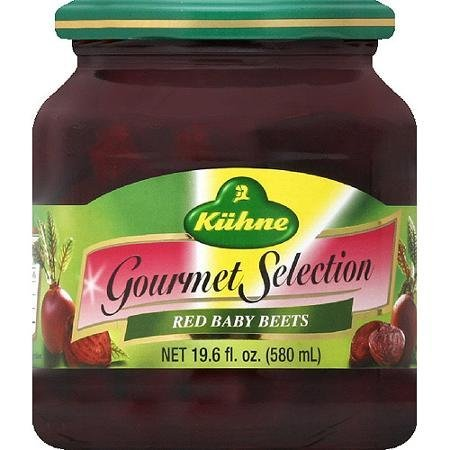 gourmet selection baby beets red Kuhne Nutrition info