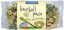 gourmet shaped pasta baseball pasta The Pasta Shoppe Nutrition info