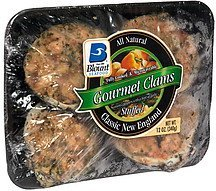 gourmet stuffed clams classic new england Blount Seafood Nutrition info