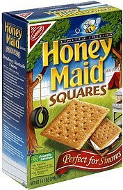 graham crackers squares Honey Maid Nutrition info