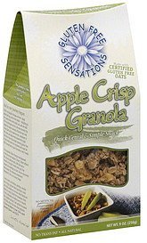 granola apple crisp Gluten Free Sensations Nutrition info