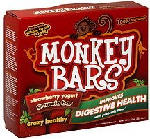granola bar strawberry yogurt Monkey Bars Nutrition info