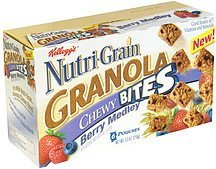 granola chewy bites berry medley Nutri-Grain Nutrition info