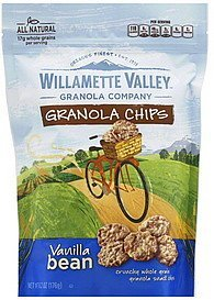 granola chips vanilla bean Willamette Valley Nutrition info