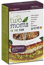 granola gojiberry Two Moms in the Raw Nutrition info
