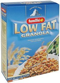 granola low fat Familia Nutrition info