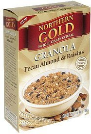 granola pecan almond & raisins Northern Gold Nutrition info