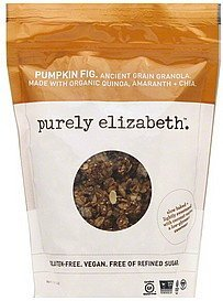 granola pumpkin fig Purely Elizabeth Nutrition info