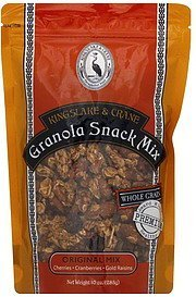 granola snack mix original mix Kingslake & Crane Nutrition info