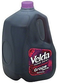 grape drink Velda Farms Nutrition info
