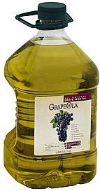 grape seed oil all natural Grapeola Nutrition info