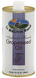 grapeseed oil authentic french Le Moulin De Marie Nutrition info
