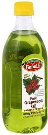 grapeseed oil pure Bonelli Nutrition info
