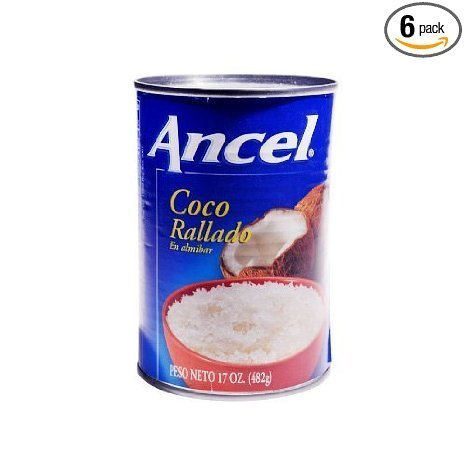 grated coconut Ancel Nutrition info