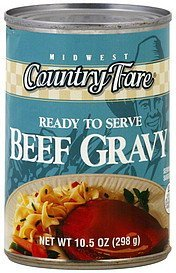gravy beef Midwest Country Fare Nutrition info