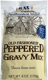 gravy mix old fashioned peppered Southeastern Mills Nutrition info