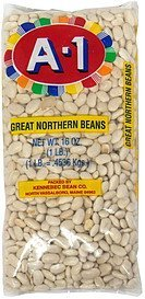 great northern beans A-1 Nutrition info