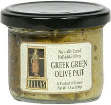 greek green olive pate Hellas Nutrition info