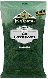 green beans cut Todays Harvest Nutrition info