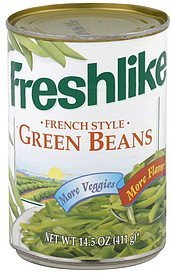 green beans french style Freshlike Nutrition info