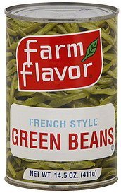 green beans french style Farm Flavor Nutrition info
