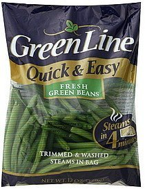 green beans fresh GreenLine Nutrition info