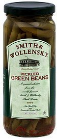 green beans pickled Smith & Wollensky Nutrition info