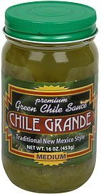 green chile sauce medium Chile Grande Nutrition info