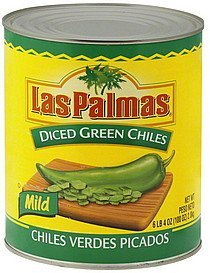green chilies diced, mild Las Palmas Nutrition info