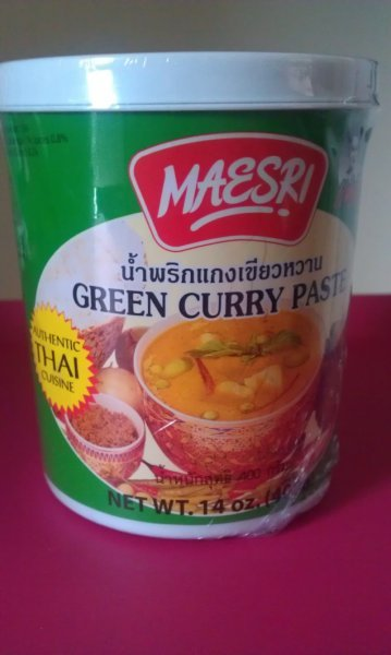 green curry paste Maesri Nutrition info