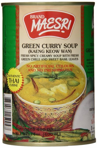 green curry soup Maesri Nutrition info