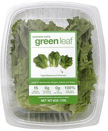 green leaf lettuce Garden Cuts Nutrition info