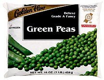 green peas Golden Flow Nutrition info