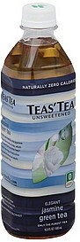 green tea elegant jasmine, unsweetened Teas Tea Nutrition info