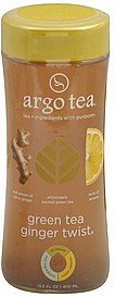 green tea ginger twist Argo Tea Nutrition info