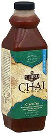 green tea latte concentrate Third St Chai Nutrition info