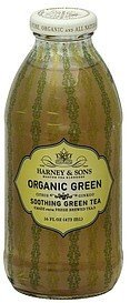 green tea soothing, organic Harney & Sons Nutrition info