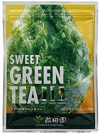 green tea sweet Maeda-en Nutrition info