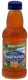 green tea with honey Tradewinds Nutrition info