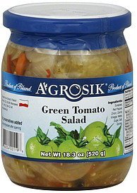 green tomato salad A-GROSIK Nutrition info