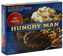 grilled beef patty Hungry-Man Nutrition info