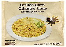 grilled corn cilantro lime Hampton Hills Nutrition info
