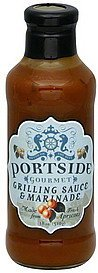 grilling sauce & marinade gourmet Portside Nutrition info