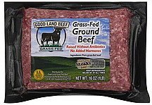 ground beef grass-fed Good Land Beef Nutrition info
