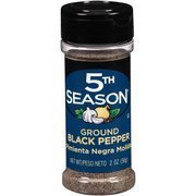 ground black pepper 5th Season Nutrition info
