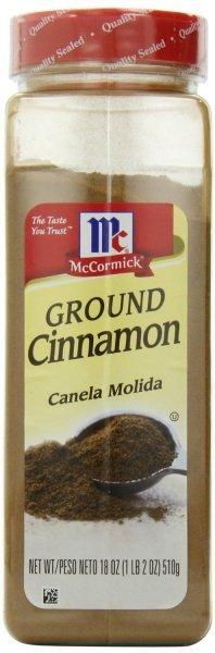 Ground cinnamon. Nutrition Facts